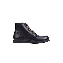 Burton - Black leather boots