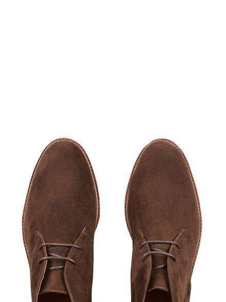 suede Burton boots desert look Brown 4xqZv