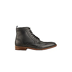 Burton - Black leather boots
