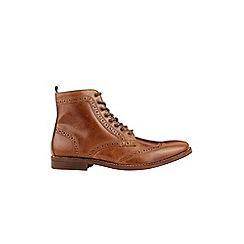 Burton - Tan leather boots