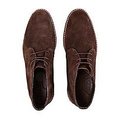 Burton - Brown suede desert boots