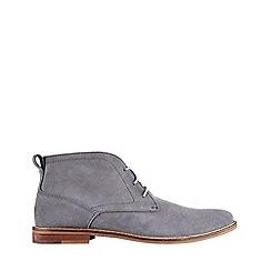 Burton - Grey suede desert boots