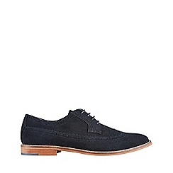 Burton - Black suede brogue shoes