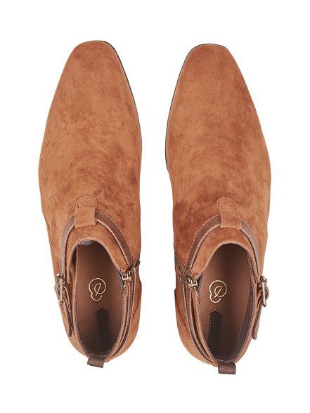 boots look Burton Chelsea suede Tan T8TPIqxA