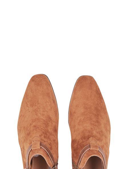 boots Burton look Tan Chelsea suede wpUwS8xqH