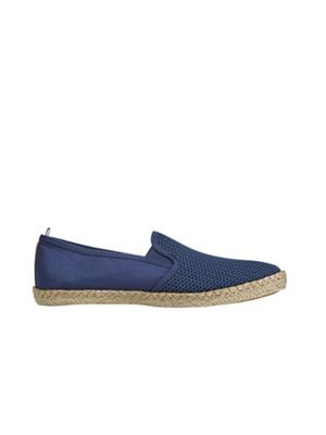 Burton - Navy mesh plimsolls Fashionable and eye-catching shoes