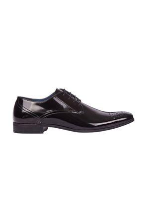 Burton - Black hi shine formal shoes