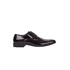 Burton - Black hi shine formal shoes