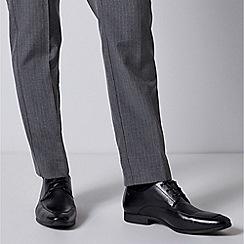 Burton - Black Leather Derby Shoes