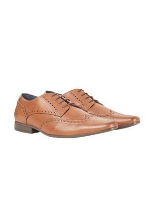 Burton - Tan look leather look Tan formal shoes d1b6bc