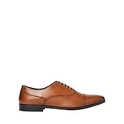 Burton - Tan leather shoes