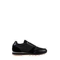 Burton - Black runner trainers