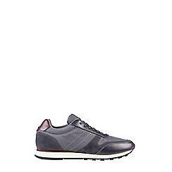 Burton - Grey runner trainers
