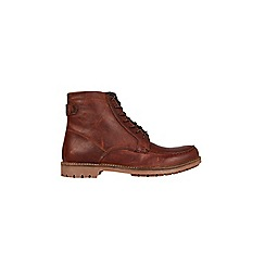 Burton - Brown leather boots