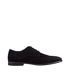 Burton - Black Leather Look Formal Shoes