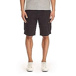 Burton - Black orion cargo shorts