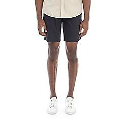 Burton - Black stretch smart chino shorts