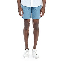 Burton - Blue stretch smart chino shorts