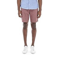 Burton - Pink taupe smart chino shorts