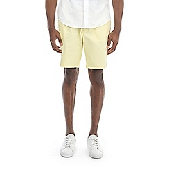 Burton - Dairy yellow stretch smart chino shorts