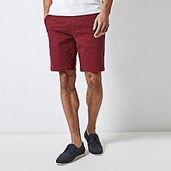 Burton - Burgundy Summer Chino Shorts