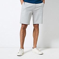 Burton - Light Grey Chino Shorts
