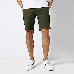 Burton - Dark Khaki Chino Shorts