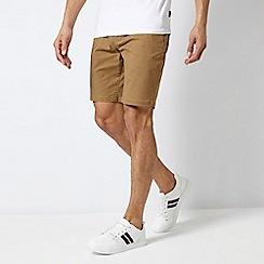 Burton - Tan Chino Shorts