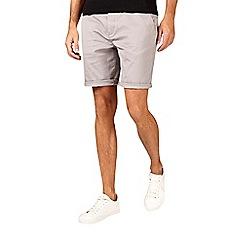 Burton - Light grey stretch chino shorts
