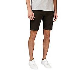 Burton - Dark green denim shorts