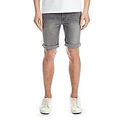 Burton - Light grey denim shorts