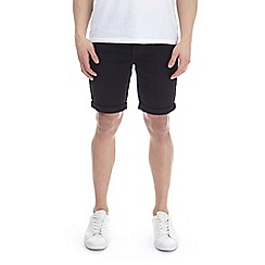 Burton - Black denim shorts