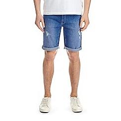 Burton - Hyper blue denim shorts