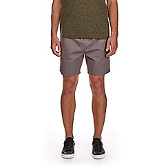 Burton - Charcoal drawstring shorts