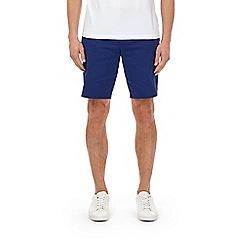 Burton - Bright blue smart chino shorts