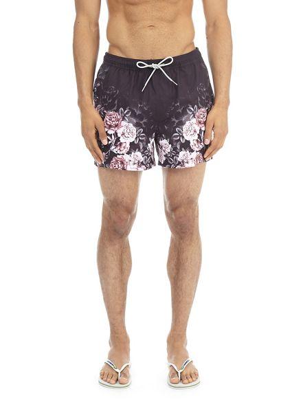 pull regular swim short Burton fade on Floral qaZPUZ