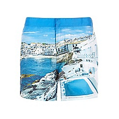 Burton - Photo print swim shorts