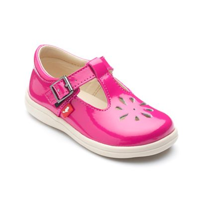 Chipmunks Chipmunks Chipmunks - Girls' fuchsia 'Trixie' shoe in patent leather 0eca98