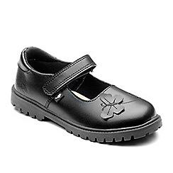 Chipmunks - Girls' black 'Paige' shoes