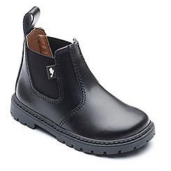 Chipmunks - Boys' black 'Ranch' boots
