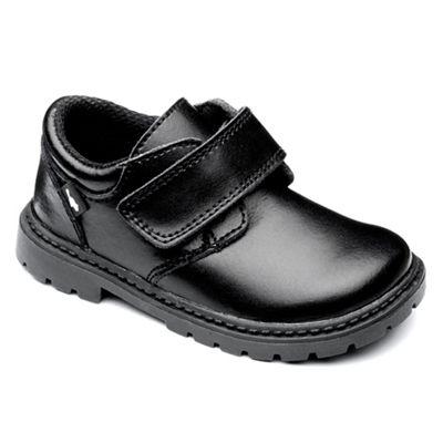 Chipmunks - Boys' black 'Logan' shoe in leather