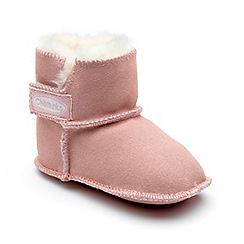 Chipmunks - Babies pink 'Jojo' boot