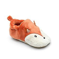 Chipmunks - Baby boys rust 'Cub' slipper