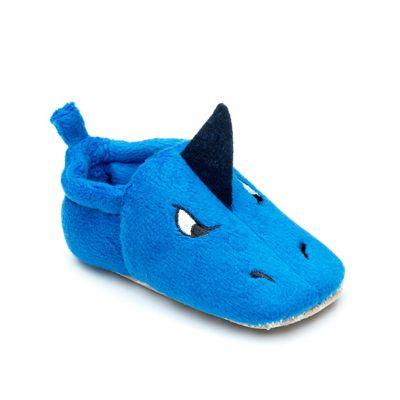 Chipmunks - Babies 'Sammy' the shark pre walker slippers soft textile