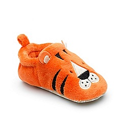 Chipmunks - Baby boys' orange 'Tommy jnr' slipper
