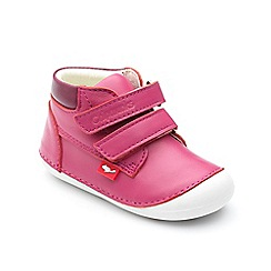 Chipmunks - Babies pink 'Bailey' boot
