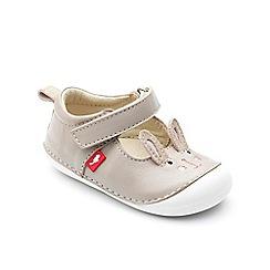 Chipmunks - Babies taupe 'Lola' shoe