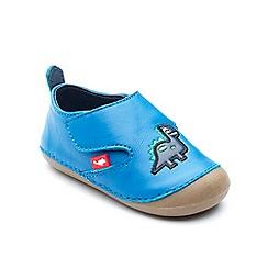 Chipmunks - Babies blue 'Dara' shoe