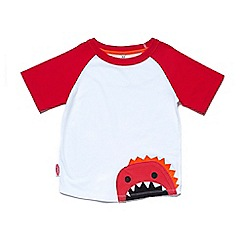 Chipmunks - Boys' white and red 'Zain' t-shirt