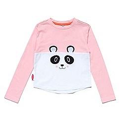 Chipmunks - Girls pink 'Bao bao' t-shirt